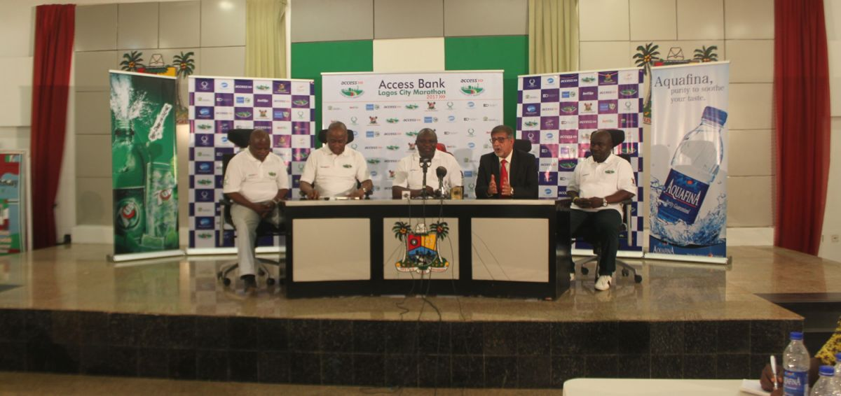 Lagos City Marathon 2017 - Press briefing