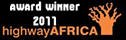 "AthleticsAfrica.com was the Winner - SABC-Telkom-Highway Africa New Media Awards 2011 (Individual Category) for the ""Innovative use of New Media in Africa"" Journalism"
