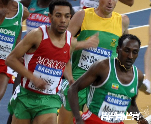 Abdelaati Iguider (Morocco) at Doha 2010/Photo credit: Yomi Omogbeja