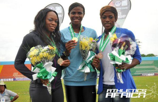 Nigerian Sprinters - Okagbare, Asunmu and Ozor