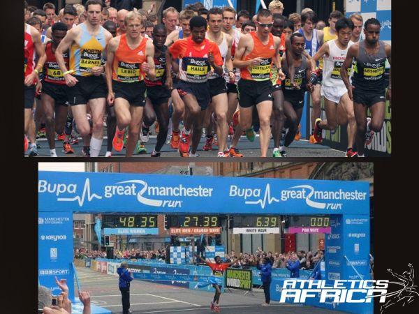 Haile Gebrselassie wins in Manchester again