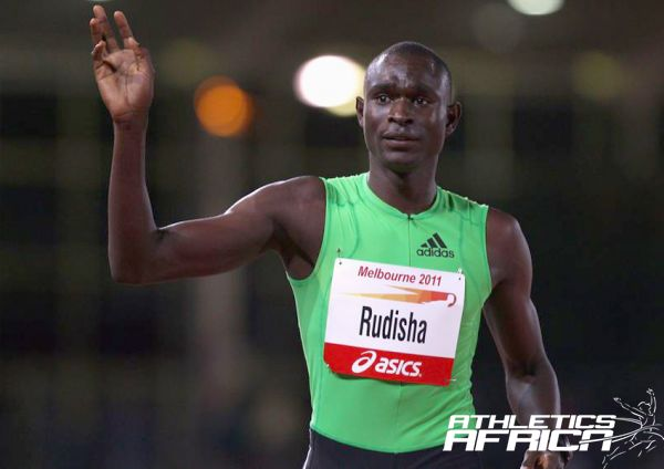 David Rudisha of Kenya