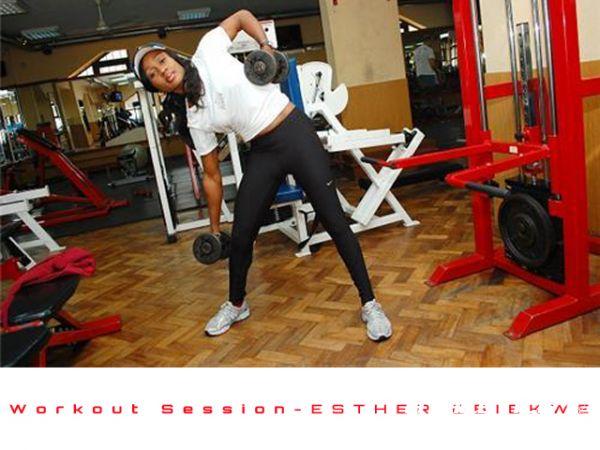 "Nigeria's Esther Obiekwe, ""The Running Banker"""