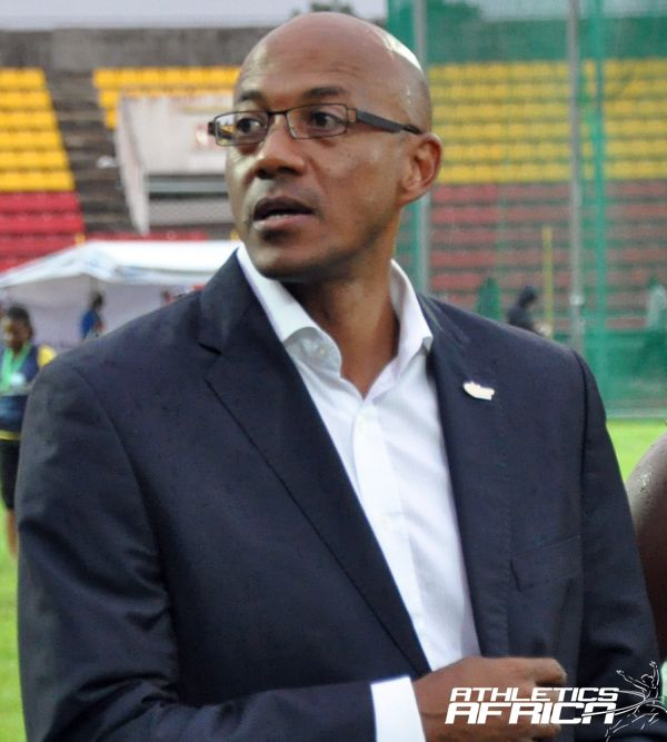 Frank Fredericks, President of Athletics Namibia / Photo Credit: Yomi Omogbeja