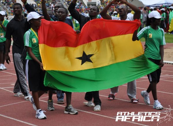 The Ghana contingent at the last African Championships in Benin 2012/ Photo by Yomi Omogbeja