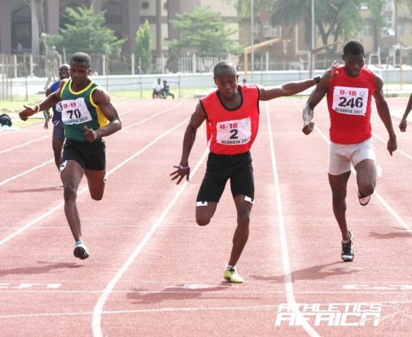 Harry Chukwudike wins at the AFN Golden League