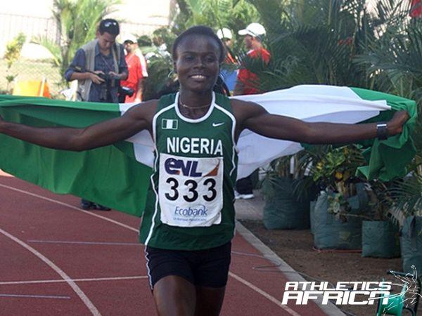 Nigeria's 2010 Youth Olympic Games (YOG) champion, Josephine Omaka/Photo credit: Mark Ouma