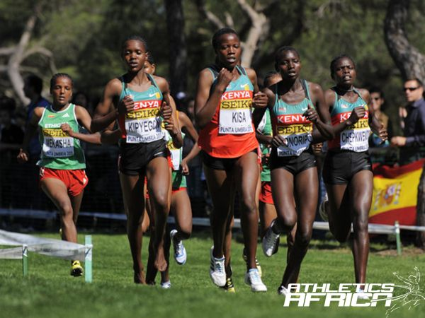 Kenyan cross country women's team