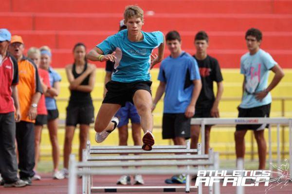 Namibian Junior Athletes in training / Photo: Namibia Sport