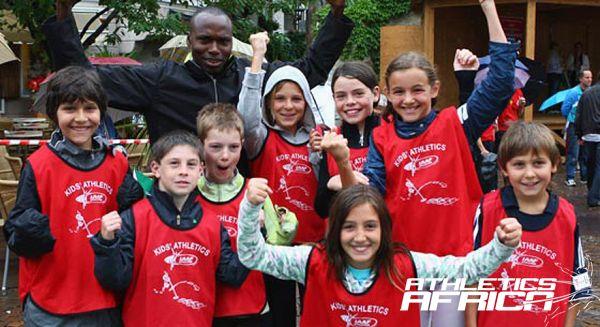 Nestle Kid Athletics programme with Wilson Kipketer
