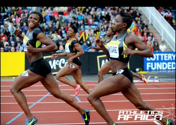 Okagbare wins in London/Photo Copyrights: Samsung Diamond League/Mark Shearman