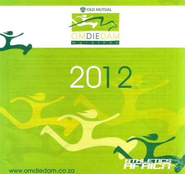 William Makwalakwale wins the 2012 Old Mutual Om Die Dam 50km.