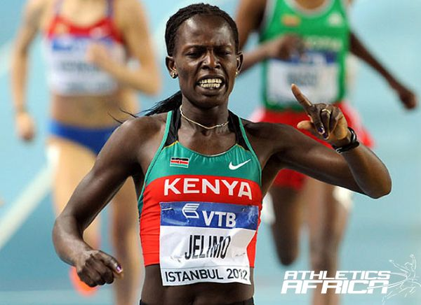 Pamela Jelimo winning in Istanbul/ Photo: IAAF/Getty