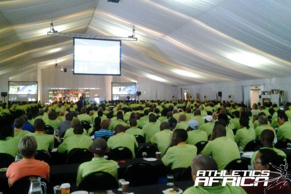 More than 900 attendees at the National SASCOC Coaches conference/Photo Credit: Linly De Beer