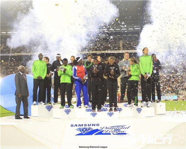 2011 SDL: Brussels Diamond Trophy Winners / Photo: Gladys von der Laage.