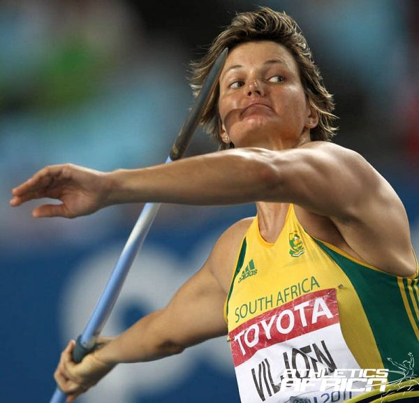 South African Javelin record holder Sunette Viljoen