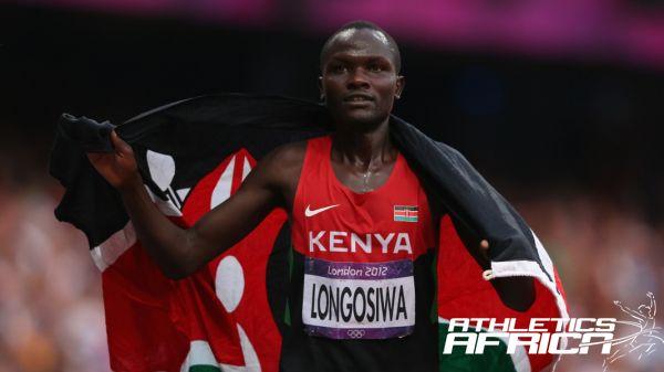 Thomas Longosiwa at the London Olympics 2012/ Photo: Cameron Spencer