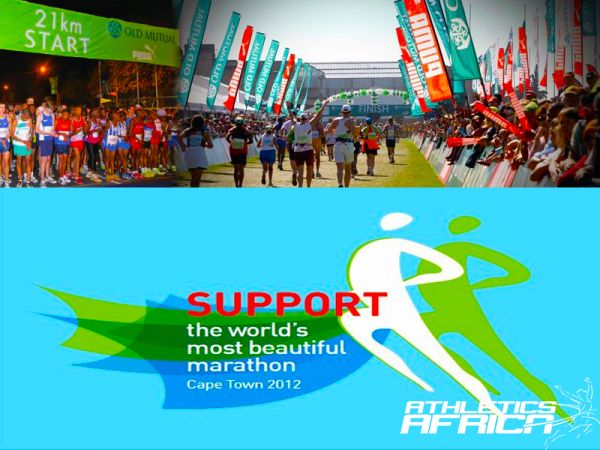 The 2012 Two Oceans Marathon mosaic