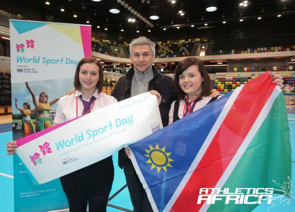 World Sport Day Launch at the Copper Box,Olympic Park/ Photo: LOCOG