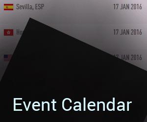2016 Events Calendar