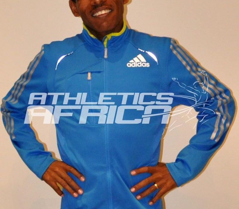 Haile Gebrselassie at the Bupa Manchester Run 2011