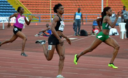 Nigeria 400m women runners