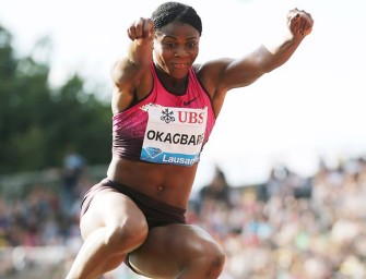 Blessing Okagbare: two wins, two meet records in Shanghai