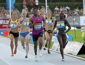 Semenya eyes World record and gold at Glasgow 2014