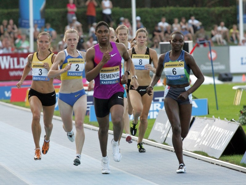 Caster Semenya in Lappeenranta / Photo Credit: Paula Noronen