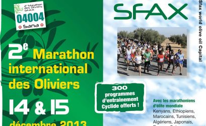 International Olive Trees Marathon / Marathon International des Oliviers de Sfax.