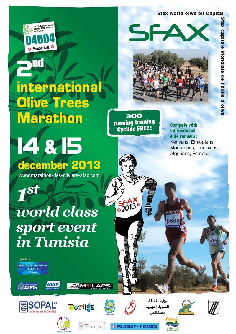 The 2nd Marathon International des Oliviers de Sfax