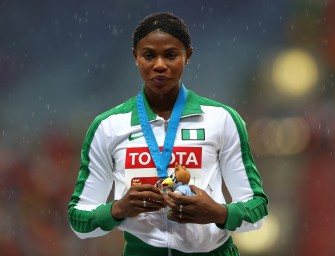 Interview: with Blessing Okagbare (Nigeria) – Moscow 2013