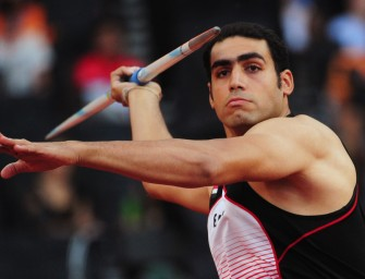 El Sayed stretches Egyptian Javelin record at Moscow 2013