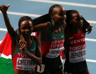 Cheywa heads African steeple sweep, Aman delivers 800m – Day 4 Moscow 2013