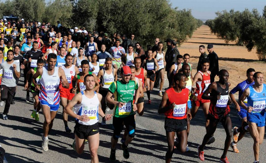 The International Olive Trees Marathon in Sfax, Tunisia have been granted the associate membership of the Association of International Marathons and Distance Races (AIMS) effective in 2013.