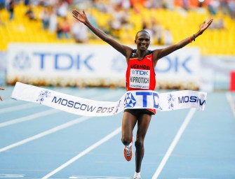 Ugandan Kiprotich relishes Moscow Gold medal feat