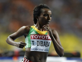 Dibaba takes third world crown, Cherono and Okagbare win silvers – Day 2 Moscow 2013