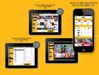 IAAF release mobile and tablets app for Moscow 2013