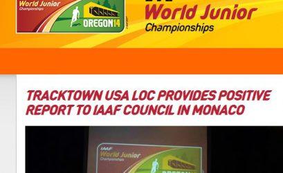 IAAF World Junior Championships at historic Hayward Field