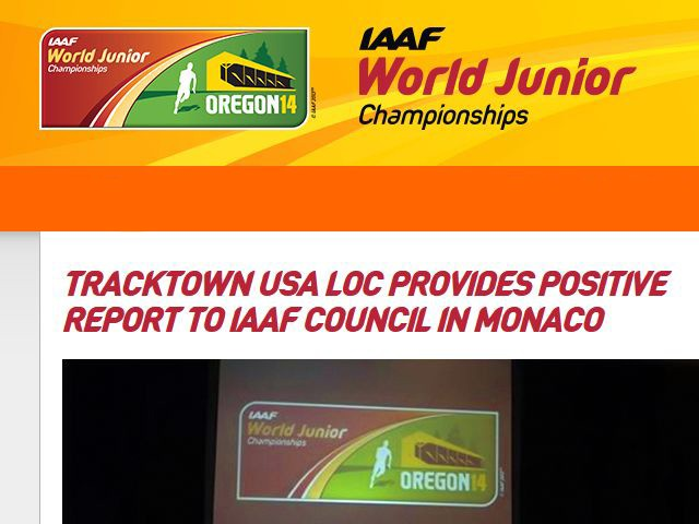 IAAF World Junior Championships at historic Hayward Field