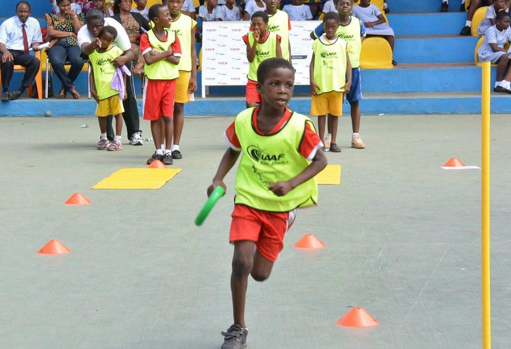 IAAF / Nestlé Kids' Athletics in Accra, Ghana / Photo: GAA
