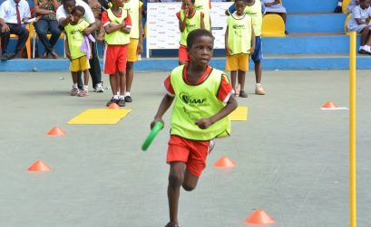IAAF / Nestlé Kids' Athletics in Accra, Ghana / Photo: GAA