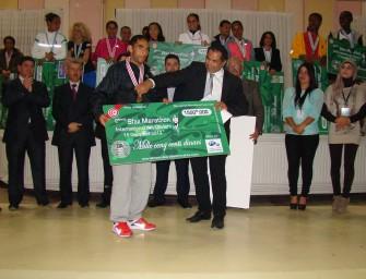French Sraidi and Moroccan Laaribi win Sfax Marathon