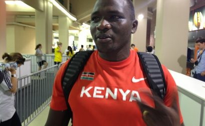 Kenya's Julius Yego at Moscow 2013 / Photo credit: Yomi Omogbeja