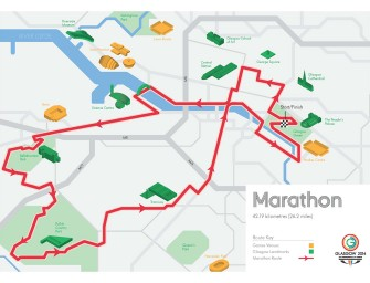 Glasgow 2014: Marathon route to offer athletes Glasgow best views