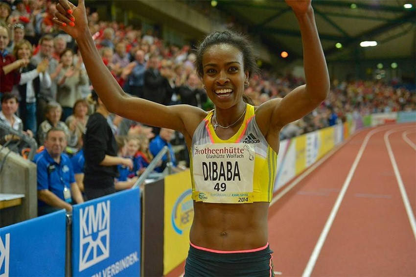 Genzebe Dibaba in 2014