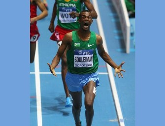 Souleiman breaks Djiboutian mile record in Eugene