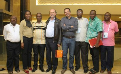 AIPS Africa leadership at 76º Congresso da AIPS, Sochi, Rússia, Hotel Radisson. Photo: António Ferreira Gonçalves