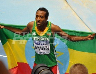 Sopot 2014: Mohammed Aman retains World Indoor 800m title