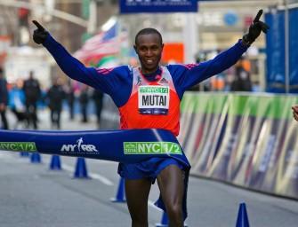 Kipyego sets course record, Mutai edge Farah at New York Half Marathon
